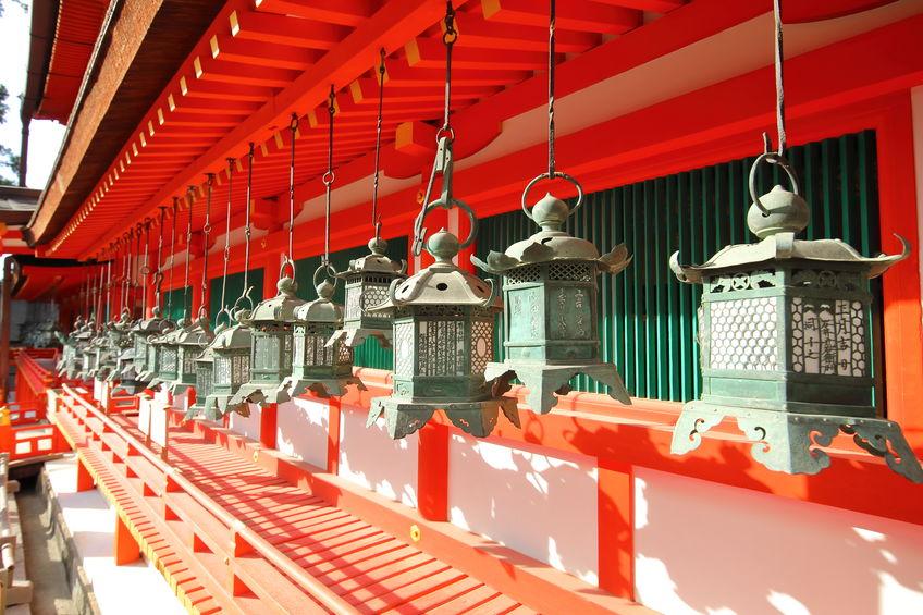 kasuga taisha shrine nara park nara japan.