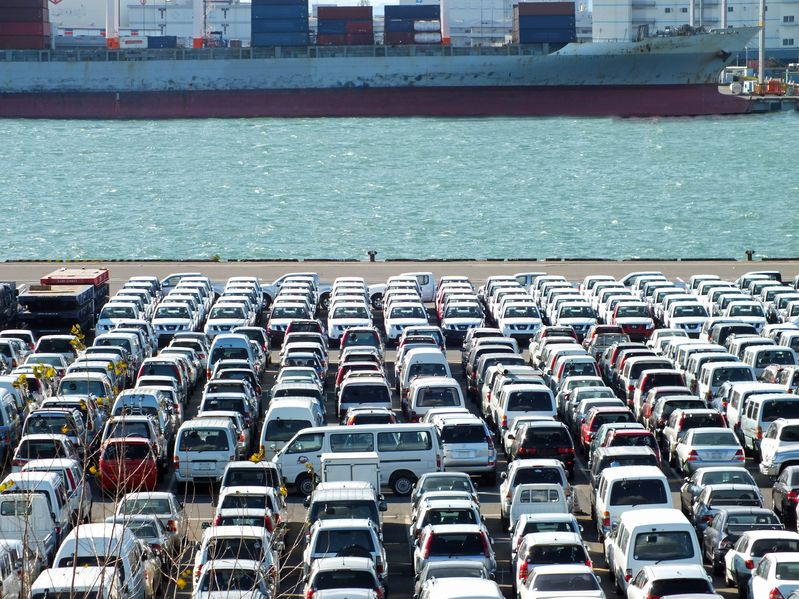view of an export port.